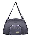 Black/Purple CueCue Foldable Sports Bag Pet Carr