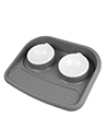 Pet Feeder Express Bowl with Mess Proof, Black