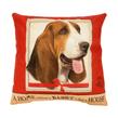 (Basset Hound) Dog Collection Throw Pil
