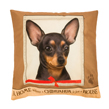 (Chihuahua) Dog Collection Throw Pillow Cushion