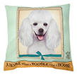 (Poodle) Dog Collection Throw Pillow Cushion