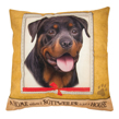 (Rottweiler) Dog Collection Throw Pillow Cushion