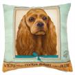 (Cocker Spaniel) Dog Collection Throw Pillow Cus