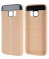 (Beige) TPU Skin for Samsung® Gala
