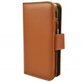 Brown Multi-Card Slot Wallet Case for Samsung Gal