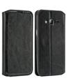 Black Wallet Case for Samsung J3