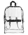 Clear Transparent PVC Multi-pockets School Backp
