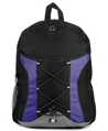 SumacLife Canvas Athletic Backpack (Blu