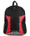 SumacLife Canvas Athletic Backpack (Red