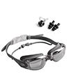 Anti-Fog Leak-Proof Swimming Goggles, Grey
