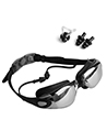 Anti-Fog Leak-Proof Swimming Goggles, Black