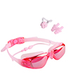 Anti-Fog Leak-Proof Swimming Goggles, Pink