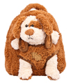 Puppy Plush Doll Removable Animal Backpack for K