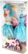 Doll Teal Dress Amy with Extra Outfit