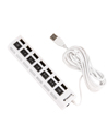 7 Ports USB Data Hub Charging Station with Indiv