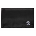 (Black) Vangoddy Poly Wallet Case