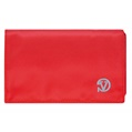 (Red) Vangoddy Poly Wallet Case